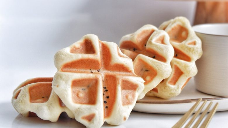 酵母版—紫米华夫饼