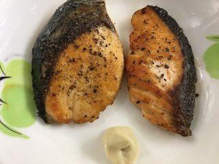 香煎三文鱼