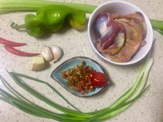 #年味#~团圆泡椒鸭胗,准备所需食材