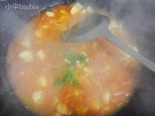 美味番茄龙利鱼(快手菜),撒上香葱碎就可以关火啦~