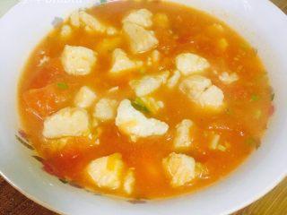 美味番茄龙利鱼(快手菜),盛出来吃~汤汁很好喝的~
