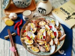 酒蒸蛤蜊――快手复刻美味