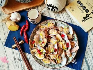 酒蒸蛤蜊――快手复刻美味,上桌。