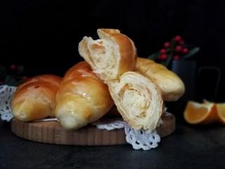 胡萝卜奶酪小餐包~一次发酵