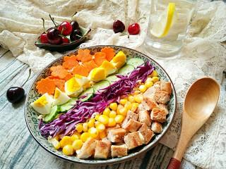 彩虹沙拉――增肌减脂两不误的健身餐