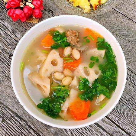 花生猪骨莲藕汤
