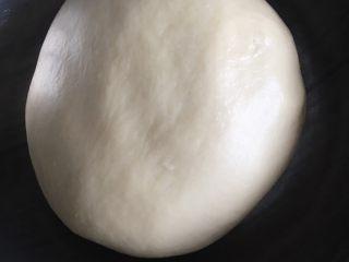 奶酪系列之:奶酪酸奶吐司,取出面团滚圆