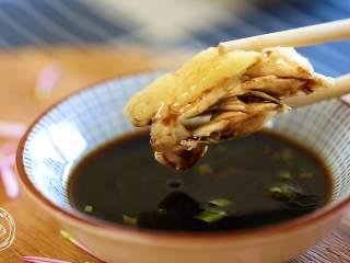 12m+葱油鸡(宝宝辅食),蘸酱油~