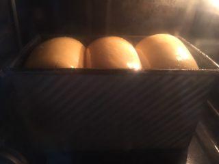 奶酪系列之:奶酪酸奶吐司,烤箱预热170度,烤约45分钟