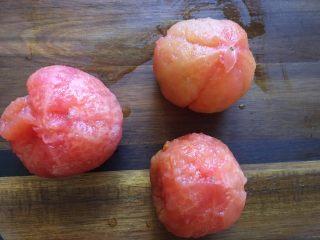 减肥食谱一番茄奶昔,去皮