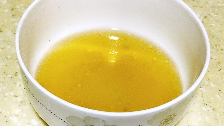 浅湘食光&蜜汁叉烧,准备蜂蜜水30ml加入水调匀
