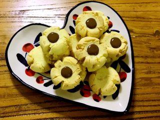 Chocolate花生碎玛格丽特小饼干,真的很好吃哟!