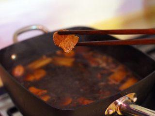 陕西小吃—肉夹馍,此时牛肉已酱好,这是酱好的牛肉,是不是闻到了香味。