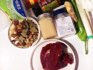 陕西小吃—肉夹馍,准备好各种材料