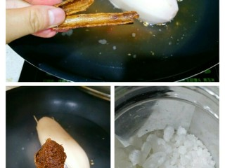 健脾开胃糯米藕,把封好的莲藕放入锅里,加入1大碗清水,加入肉桂,姜枣茶,白糖。