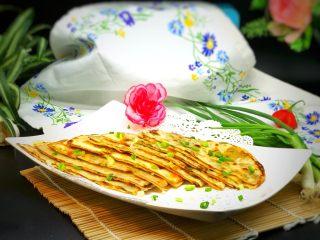 饺子皮版酱香葱油饼
