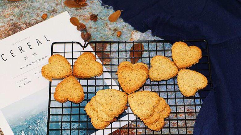 低脂健康红茶燕麦饼干