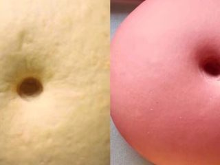 吉祥如意,这是发酵好的样子,体积2倍大,手指戳一个洞,洞口,不回缩不变形。