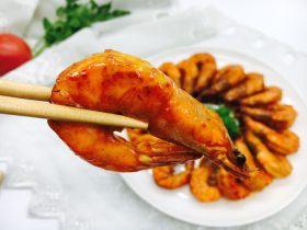 油焖糖醋大虾