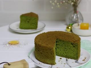 香橙抹茶戚风蛋糕,好吃的抹茶戚风蛋糕