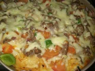 牛肉蔬菜披萨