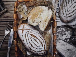全麦椰片麻薯软欧面包