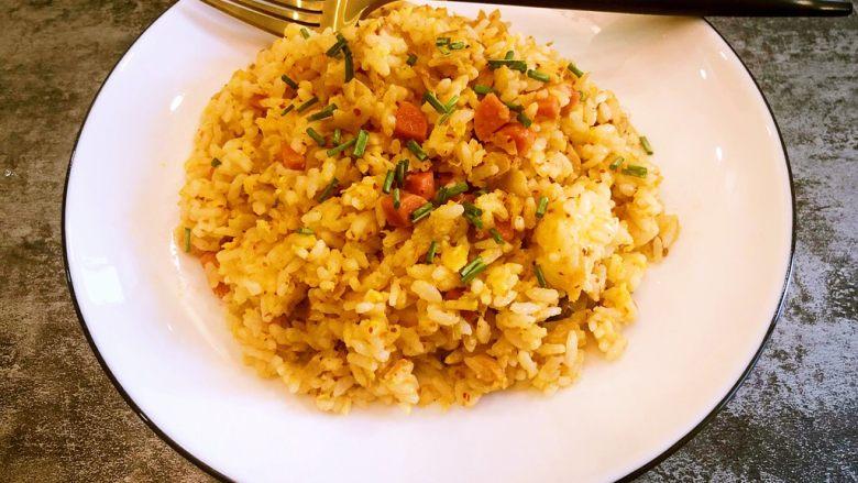 韩式泡菜蛋炒饭