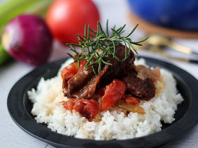 年味。【普罗旺斯番茄炖烤牛肋排】