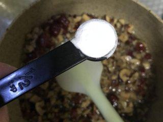 低脂养生红枣蛋糕, 离火,加入小苏打