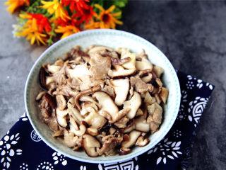 香菇大蒜炒肉