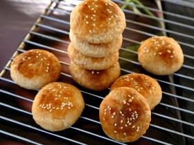 做饼+黄山烧饼