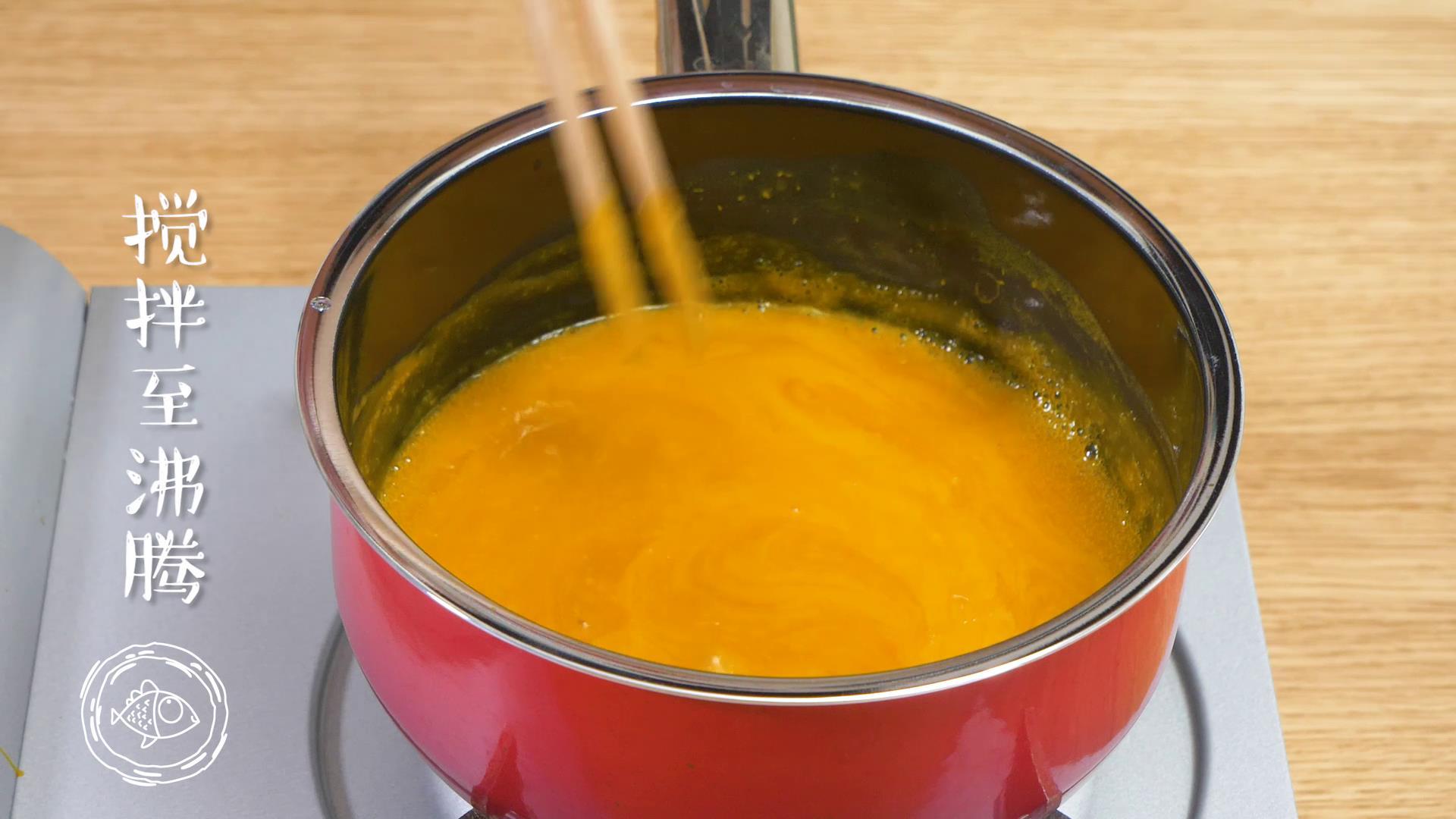 8m+南瓜蛋羹,搅拌至沸腾~</p> <p>