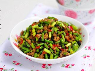 豆豉炒肉丁——不知不觉两碗饭,成品