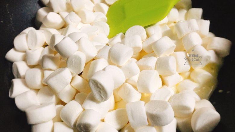 椰子雪花酥 香甜可口,倒入棉花糖,全程小火操作…