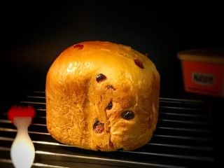 面包机版蔓越莓红糖面包