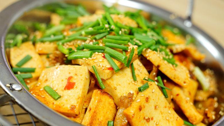 干锅千页豆腐, 告别一个人吃火锅的寂寞,一道可以拯救单身狗家常菜*婷姐新煮意