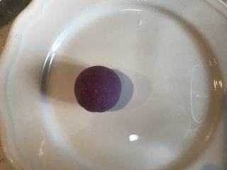 紫薯糖心糯米滋,包圆