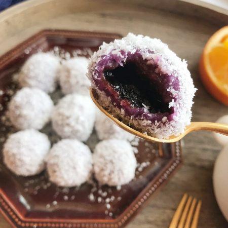 紫薯糖心糯米滋