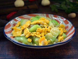 鸡蛋炒丝瓜