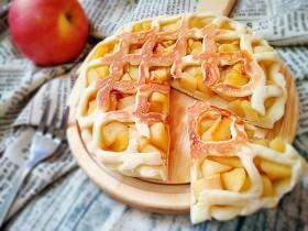 无油苹果派(平底锅发面版)