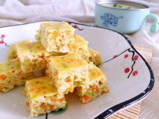 蔬菜豆腐虾泥糕