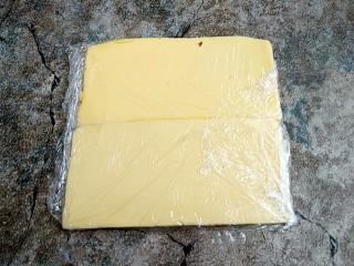 网红脏脏包,然后用保鲜膜包起来也先放冰箱