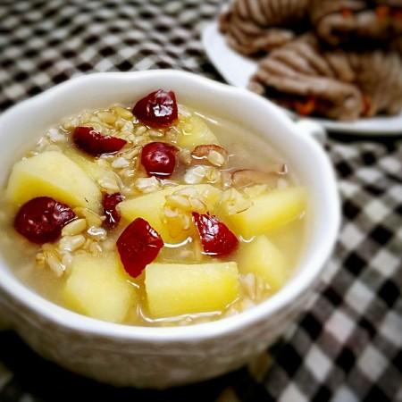苹果红枣燕麦粥