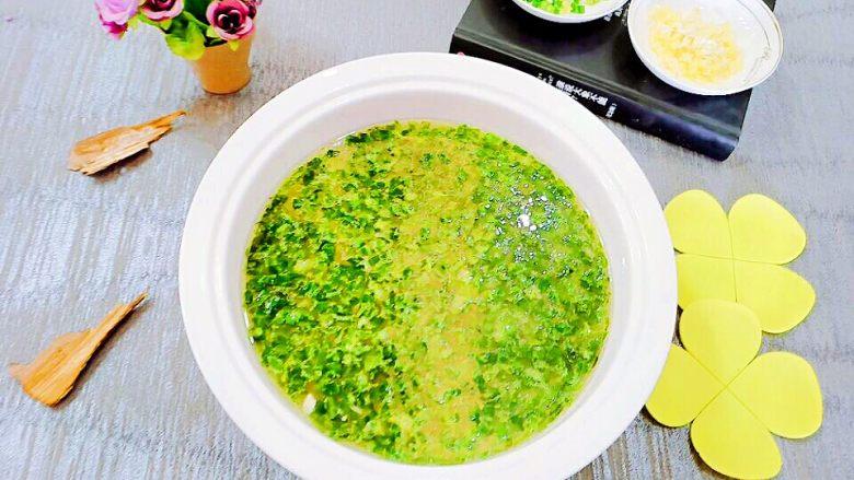 生菜豆腐肉沫羹