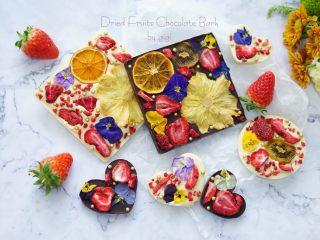 网红水果干巧克力
