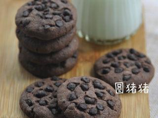 巧克力豆曲奇