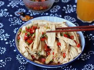 凉拌腐竹,家乡菜,欢迎你来尝一尝