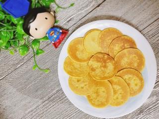 #宝宝辅食#奶香玉米饼