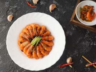 香菇豆豉干锅虾
