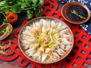 春节吉祥菜——花开富贵百财牛肉卷